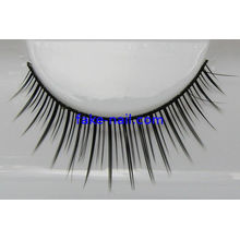 100% Hand Made Natural False Eyelashes , Fabric Material Artificial Eyelash